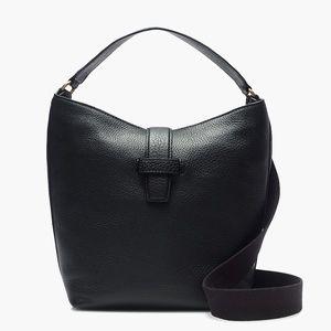 NWT J. Crew Signet Hobo Bag in Italian Leather